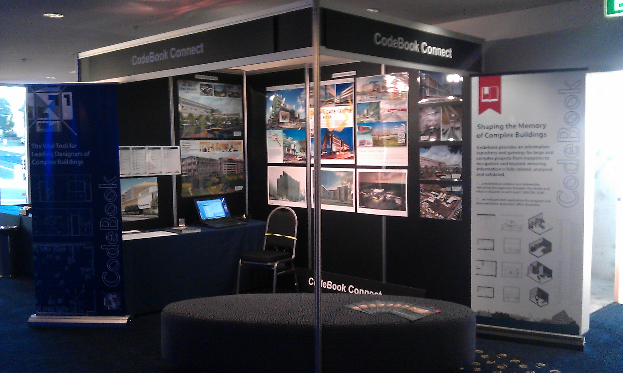 CodeBook Connect stand at RTC 2012 Australasia